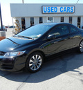 honda civic 2009 black coupe ex gasoline 4 cylinders front wheel drive automatic 79925