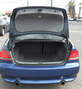 bmw 335i 2007 dk  blue coupe gasoline 6 cylinders rear wheel drive automatic 79925