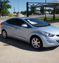 hyundai elantra 2012 blue sedan limited gasoline 4 cylinders front wheel drive automatic 76049