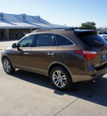 hyundai veracruz 2012 brown suv gasoline 6 cylinders front wheel drive 6 speed automatic 76049