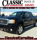 gmc sierra 2500hd 2011 black denali diesel 8 cylinders 4 wheel drive allison 75007