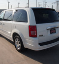 chrysler town and country 2010 white van touring gasoline 6 cylinders front wheel drive automatic 75007