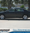 chevrolet malibu 2012 black sedan ls gasoline 4 cylinders front wheel drive 6 speed automatic 77503