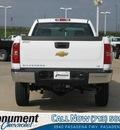 chevrolet silverado 2500hd 2012 white pickup truck work truck gasoline 8 cylinders 2 wheel drive automatic 77503