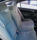 honda civic 2007 blue sedan lx gasoline 4 cylinders front wheel drive automatic 79936
