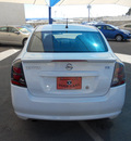 nissan sentra 2011 white sedan gasoline 4 cylinders front wheel drive automatic 79936