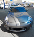 nissan 350z 2008 gray coupe gasoline 6 cylinders rear wheel drive 6 speed manual 79936
