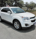 chevrolet equinox 2011 white lt gasoline 4 cylinders front wheel drive automatic 78028