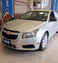chevrolet cruze 2011 silver sedan ls gasoline 4 cylinders front wheel drive automatic 78028