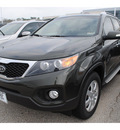 kia sorento 2012 green suv lx gasoline 4 cylinders front wheel drive 6 speed automatic 77539