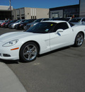 chevrolet corvette 2007 white coupe gasoline 8 cylinders rear wheel drive 5 speed manual 79925