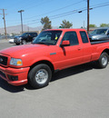 ford ranger 2006 red gasoline 6 cylinders rear wheel drive automatic 79925