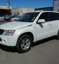 suzuki grand vitara 2007 white suv gasoline 6 cylinders rear wheel drive automatic 79925