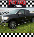 toyota tundra 2012 black grade gasoline 8 cylinders 2 wheel drive automatic 77469
