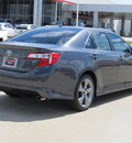 toyota camry 2012 gray sedan se v6 gasoline 6 cylinders front wheel drive automatic with overdrive 77469