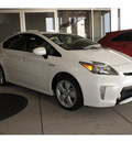 toyota prius 2012 white hatchback five hybrid 4 cylinders front wheel drive automatic 77469