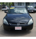 honda accord 2004 black sedan lx gasoline 4 cylinders front wheel drive automatic 77515