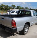 toyota tacoma 2007 silver gasoline 4 cylinders rear wheel drive standard 77515