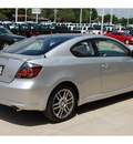 scion tc 2008 silver hatchback gasoline 4 cylinders front wheel drive 5 speed manual 77836