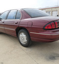 chevrolet lumina 2001 maroon sedan gasoline 6 cylinders front wheel drive automatic 76567