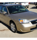 chevrolet malibu 2007 brown sedan lt gasoline 6 cylinders front wheel drive automatic 76567