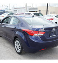 hyundai elantra 2011 blue sedan gasoline 4 cylinders front wheel drive automatic 78550