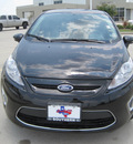ford fiesta 2012 black hatchback ses gasoline 4 cylinders front wheel drive automatic 77578