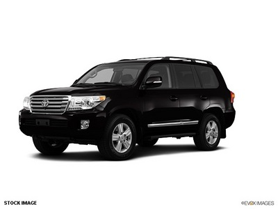 toyota land cruiser 2013 black suv gasoline 8 cylinders 4 wheel drive not specified 75067