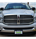 dodge ram pickup 1500 2008 silver pickup truck slt gasoline 8 cylinders rear wheel drive automatic 78757