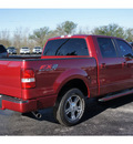 ford f 150 2008 red fx2 sport gasoline 8 cylinders 2 wheel drive automatic 77074