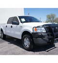 ford f 150 2008 white xlt gasoline 8 cylinders 4 wheel drive automatic 79407