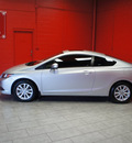 honda civic 2012 silver coupe ex l gasoline 4 cylinders front wheel drive automatic 76116