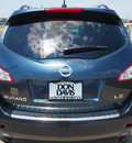 nissan murano 2011 dk  blue le gasoline 6 cylinders front wheel drive automatic with overdrive 76018