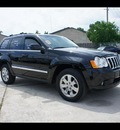 jeep grand cherokee 2008 black suv limited gasoline 8 cylinders 2 wheel drive 5 speed automatic 77338