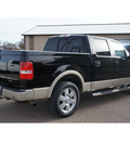 ford f 150 2007 black lariat flex fuel 8 cylinders rear wheel drive automatic with overdrive 79029