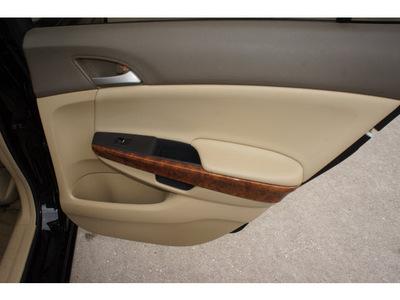 honda accord 2009 black sedan ex gasoline 4 cylinders front wheel drive automatic 77339