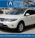 nissan murano 2009 off white suv sl gasoline 6 cylinders front wheel drive automatic with overdrive 77074