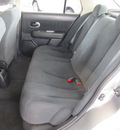 nissan versa 2011 dk  gray sedan 1 8 s gasoline 4 cylinders front wheel drive automatic with overdrive 77477