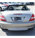 mercedes benz slk class 2005 silver slk350 gasoline 6 cylinders rear wheel drive automatic 78626