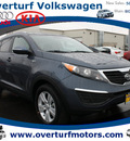 kia sportage 2012 dk  blue suv lx gasoline 4 cylinders all whee drive not specified 99336