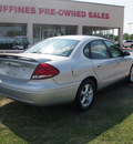 ford taurus 2004 silver sedan ses gasoline 6 cylinders front wheel drive automatic 75067