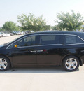 honda odyssey 2012 black van touring elite gasoline 6 cylinders front wheel drive automatic 75034