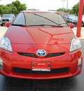 toyota prius 2011 red ii hybrid 4 cylinders front wheel drive automatic 75067