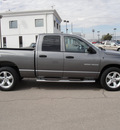 dodge ram 1500 2007 grey pickup truck gasoline 8 cylinders rear wheel drive automatic 79936