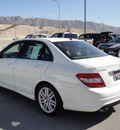 mercedes benz c300 2009 white sedan gasoline 6 cylinders rear wheel drive automatic 79922