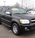 toyota sequoia 2007 black suv limited gasoline 8 cylinders rear wheel drive automatic 79922