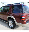 ford explorer 2010 brown suv eddie bauer gasoline 6 cylinders 2 wheel drive automatic with overdrive 77539