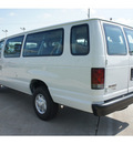ford e series wagon 2012 oxford white van flex fuel 8 cylinders rear wheel drive automatic 77539