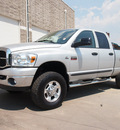 dodge ram pickup 2500 2007 silver slt diesel 6 cylinders 4 wheel drive automatic 80301