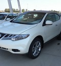 nissan murano crosscabriolet 2011 white suv gasoline 6 cylinders all whee drive cont  variable trans  77471